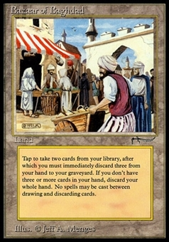Magic the Gathering Arabian Nights Single Bazaar of Baghdad - NEAR MINT (NM)