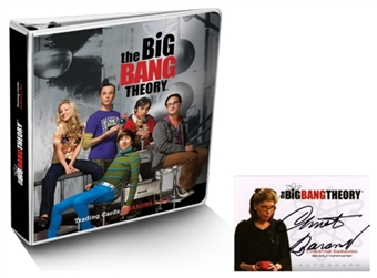 The Big Bang Theory Platinum Edition Binder (Cryptozoic 2013)
