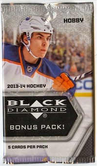 2013-14 Upper Deck Black Diamond Hockey Hobby Bonus Pack