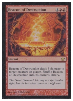 Magic the Gathering Fifth Dawn Single Beacon of Destruction Foil