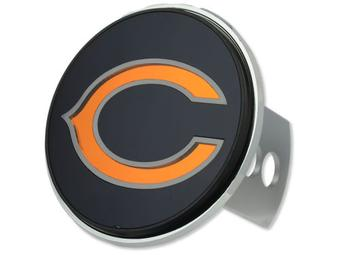 "Chicago Bears Rico Industries 4 "" Laser Trailer Hitch Cover"