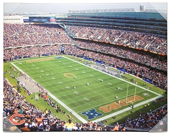 Chicago Bears Artissimo Soldier Field Stadium 22x28 Canvas