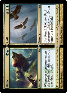 Magic the Gathering Dragon's Maze Single Beck / Call  x4 (Playset) - NEAR MINT (NM)