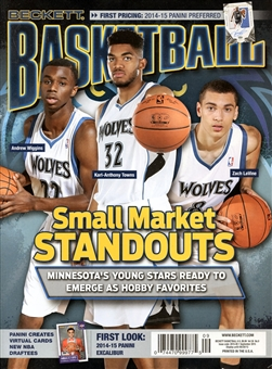 2015 Beckett Basketball Monthly Price Guide (#276 September) (Small Market Standouts)