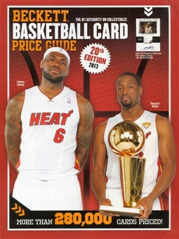 2013 Beckett Basketball Yearly Price Guide (20th Edition) (James/Wade)