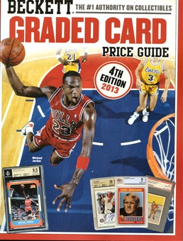 2013 Beckett Graded Card Investor & Price Guide 4th Edition (Michael Jordan)