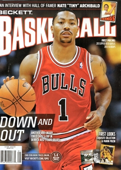 2014 Beckett Basketball Monthly Price Guide (#256 Janruary) (Rose)