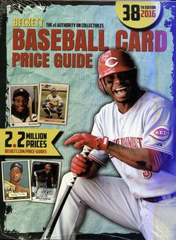 2016 Beckett Baseball Yearly Price Guide (38th Edition) (Ken Griffey Jr.)