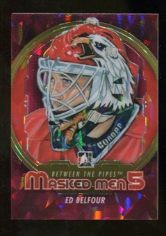2012/13 In the Game Between The Pipes Masked Men V Rainbow #MM2 Ed Belfour