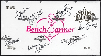 BenchWarmer National Edition Autographed Trading Card Box 50/99 (2012)