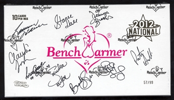 BenchWarmer National Edition Autographed Trading Card Box 57/99 (2012)