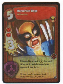 Marvel Super Hero Squad Foundation Single Berserker Rage Rare