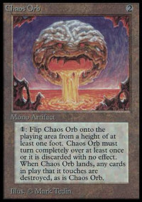 Magic the Gathering Beta Single Chaos Orb - NEAR MINT (NM)