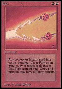 Magic the Gathering Beta Single Fork - NEAR MINT (NM)