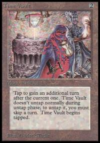 Magic the Gathering Beta Single Time Vault UNPLAYED (NM/MT)