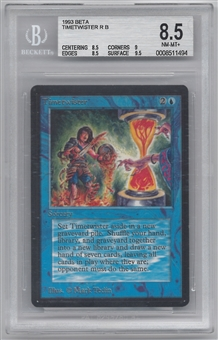 Magic the Gathering Beta Single Timetwister BGS 8.5