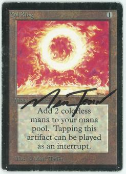 Magic the Gathering Beta Single Sol Ring - HEAVY PLAY MINUS (HP-)