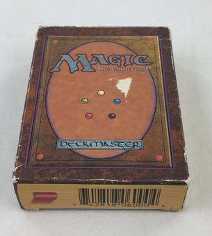 Magic the Gathering EMPTY Beta Starter Deck - NO CARDS INSIDE
