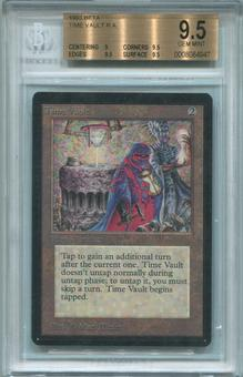 Magic the Gathering Beta Single Time Vault - BGS 9.5 (9, 9.5, 9.5, 9.5) *0008084947*