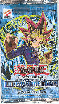 Upper Deck Yu-Gi-Oh Blue Eyes White Dragon 1st Edition Booster Pack