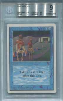 Magic the Gathering Unlimited Single Time Walk BGS 9 - *0008630116*