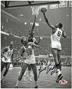 Bill Russell Autographed Boston Celtics 8x10 Basketball Photo