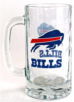 Buffalo Bills Boelter 16 Oz NFL SATIN ETCH TANKARD