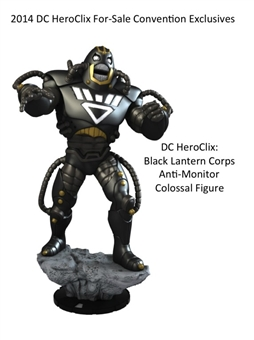 Heroclix Black Lantern Anti-Monitor Colossal Figure