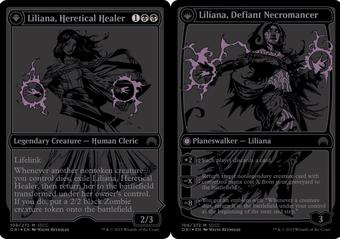 Magic the Gathering Promo Single Liliana, Defiant Necromancer SDCC Exclusive - NEAR MINT (NM)