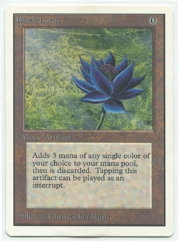 Magic the Gathering Unlimited Single Black Lotus - SLIGHT / MODERATE PLAY (SP / MP)