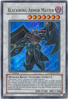 Yu-Gi-Oh Gold Series 3 Single Blackwing Armor Master (GLD3-EN038)