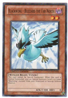 Yu-Gi-Oh Gold Series 3 Single Blackwing - Blizzard the Far North GLD3-EN024