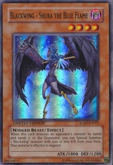 Yu-Gi-Oh Raging Battle Single Blackwing-Shura the Blue Flame Super Rare