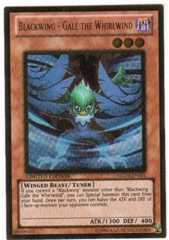 Yu-Gi-Oh Gold Series 3 Single Blackwing - Gale the Whirlwind (GLD3-EN021)