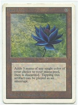 Magic the Gathering Unlimited Single Black Lotus - MODERATE PLAY (MP)
