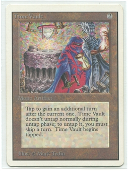 Magic the Gathering Unlimited Single Time Vault - SLIGHT PLAY (SP)