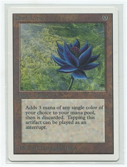 Magic the Gathering Unlimited Single Black Lotus - NEAR MINT / SLIGHT PLAY (NM/SP)