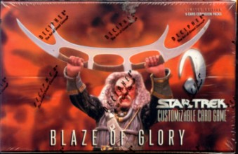 Decipher Star Trek Blaze of Glory Booster Box
