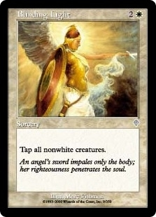 Magic the Gathering Invasion Single Blinding Light Foil