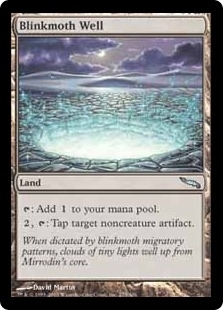 Magic the Gathering Mirrodin Singles 4x Blinkmoth Well - NEAR MINT (NM)