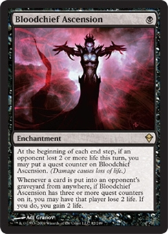 Magic the Gathering Zendikar Single Bloodchief Ascension - NEAR MINT (NM)