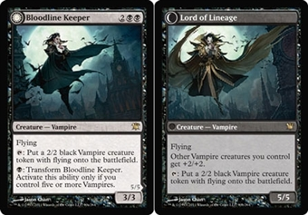 Magic the Gathering Innistrad Single Bloodline Keeper - Lord of Lineage Foil