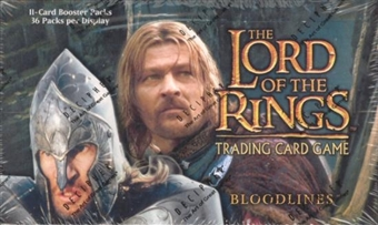 Decipher Lord of the Rings Bloodlines Booster Box
