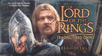 Decipher Lord of the Rings Bloodlines Starter Box