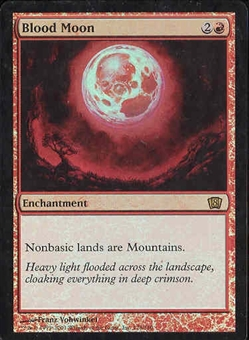 Magic the Gathering 8th Edition Single Blood Moon FOIL