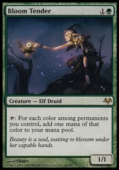 Magic the Gathering Eventide Single Bloom Tender FOIL - MODERATE PLAY (MP)