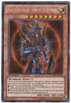 Yu-Gi-Oh Legendary Collection 3 Single Black Luster Soldier - Envoy of the Beginning Secret Rare