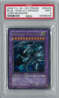 Yu-Gi-Oh! Shonen Jump Promo Blue-Eyes Ultimate Dragon JUMP -EN005 Ultra Rare PSA 9