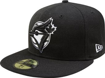 Toronto Blue Jays New Era 59Fifty Fitted Black Hat (7 1/8)