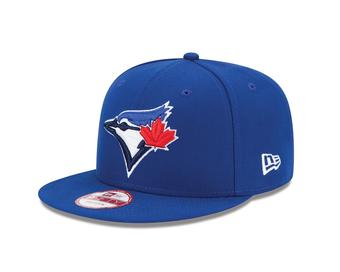 Toronto Blue Jays New Era 9Fifty Baycik Royal Blue Snapback Hat (Adult OSFA)